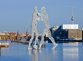 Molecule men — Stock Photo