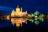Brunei mosque — Stock Photo