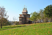 Wooden Russian church — Stockfoto