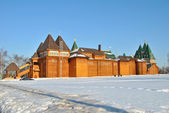 Wooden palace in Kolomenskoe, Moscow, Russia — Stock fotografie