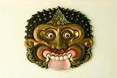 Kraton sarayı maske yogyakarta — Stok fotoğraf