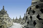 Templo de borobudur java indonesia — Foto de Stock