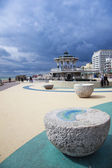 Brighton beach seafront bandstand — Stock Photo