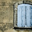 Old rustic window background — Stock Photo