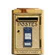 Stock Photo: French post box provence