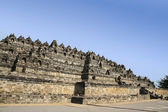 Borobudur temple java indonesia — Stock Photo