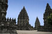 Prambanan temples yogyakarta java indonesia — Stock Photo