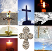 Religious Collage — Stock Photo
