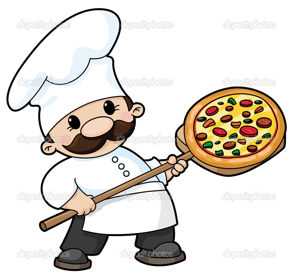 Pizza Chef Stock Vector 169 Polkan 4258071
