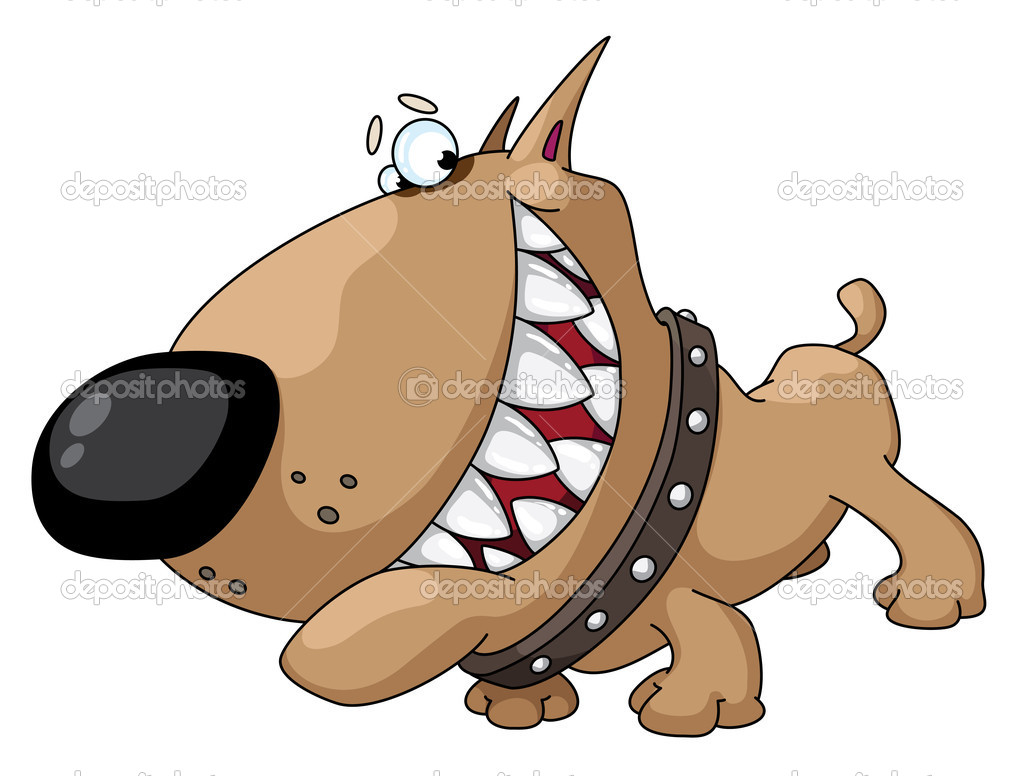 Dog smile - Stock Illustration