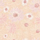 Muster rosa blumen — Stockvektor