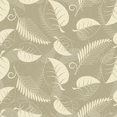 米色叶子 — 图库矢量图片