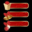 Royalty-Free Stock Vectorafbeeldingen: Christmas banners