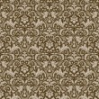 Damask  pattern - Image vectorielle