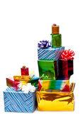 Groep van geschenken — Stockfoto