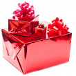Three presents — Foto Stock