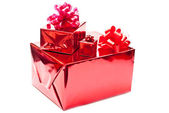 Drei Geschenke — Stockfoto