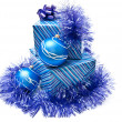 Presents in christmas decor — Foto de Stock
