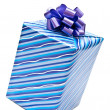 Gift box with bow — Stock Photo #4165821
