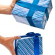 Two gifts — Stock Photo