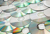 Discs in an array — Stock Photo