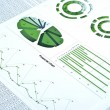 Financial chart - Stockfoto