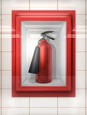 Fire Extinguisher — Stock Photo