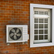 Air Conditioner — Stock Photo #4931899