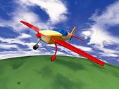 Sport airplane — Стоковое фото