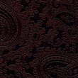 Brown leather texture with floral pattern — Foto de Stock