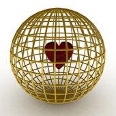 3d render of heart — Stock Photo