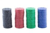 Poker chips. — Stock Photo