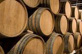 Wine barrels. — Stock Photo