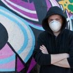 Graffity painter. — Stock Photo