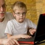Technology familiy. — Stock Photo