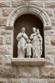 Estatuas en el templo de lady day. — Foto de Stock