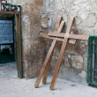 Royalty-Free Stock Photo: A crosses in Jerusalem, Israel.