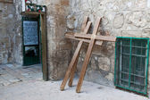 A crosses in Jerusalem, Israel. — Stock Photo