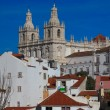 Altstadt Alfama in Lissabon - Stock Photo