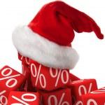 Christmas discount — Stock Photo