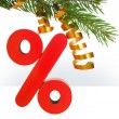 Christmas discount — Foto de Stock