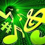 Digital music — Stock Photo #4106561