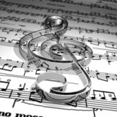Musique — Foto de Stock