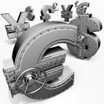 Банковские сейфы — Стоковое фото