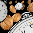 Foto de Stock  : Time is money