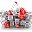 Foto Stock: Shopping basket