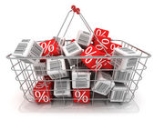 Shopping basket — Foto de Stock