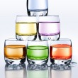 Color glasses — Stock Photo