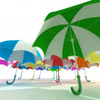 Umbrellas — Stock Photo #5173093