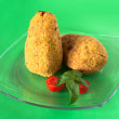 Plate With Arancini - Stock Photo
